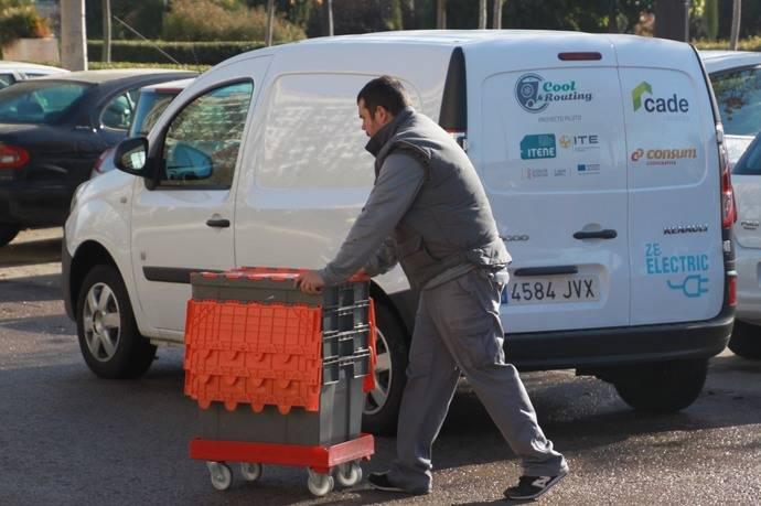 Consum colabora para optimizar el reparto con vehículos eléctricos