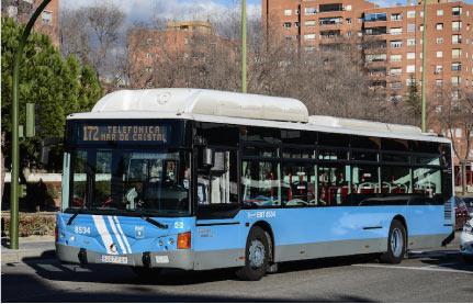 En marcha la nueva línea 175 de la EMT de Madrid a Las Tablas
