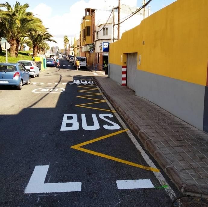 La nueva parada de Guaguas Municipales.