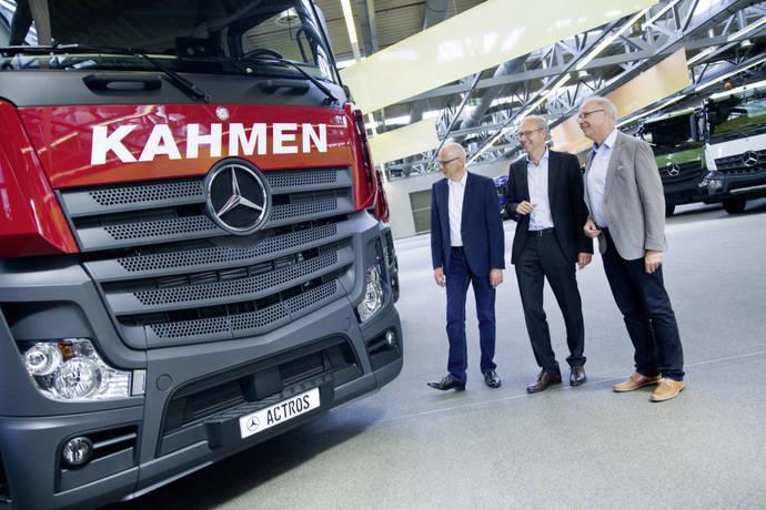 70 nuevos Mercedes Benz Actros para Kahmen TransCargo