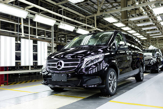 Mercedes-Benz Vans celebra diez años de empresa conjunta con Fujian Benz en China