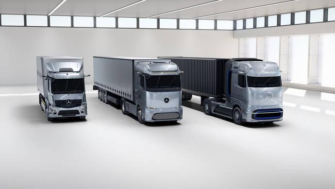 Daimler apuesta por las cero emisiones para larga distancia