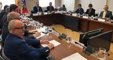 Reunión del ministro con el Sector.