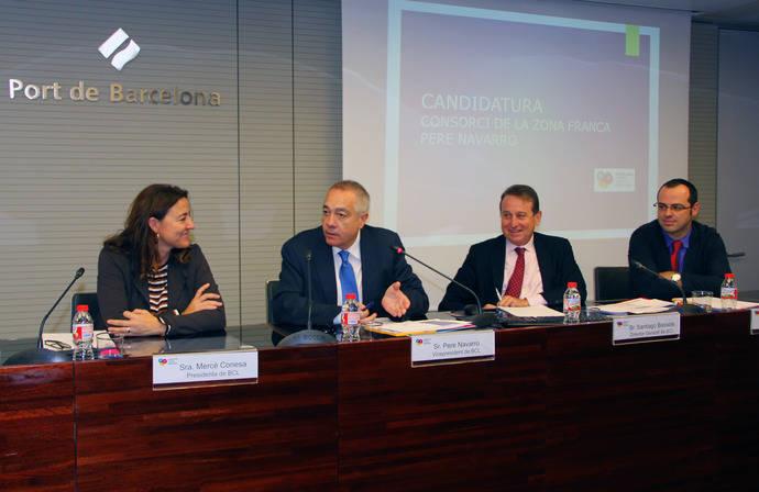 Pere Navarro, nuevo presidente de Barcelona-Cataluña Centre Logístic