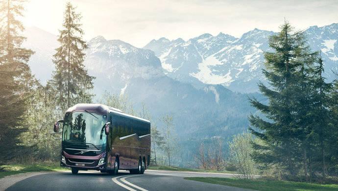 Volvo lanza nueva plataforma para autocares de larga distancia