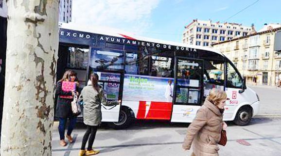Ado Avanza sigue con la concesión de los autobuses urbanos de Soria