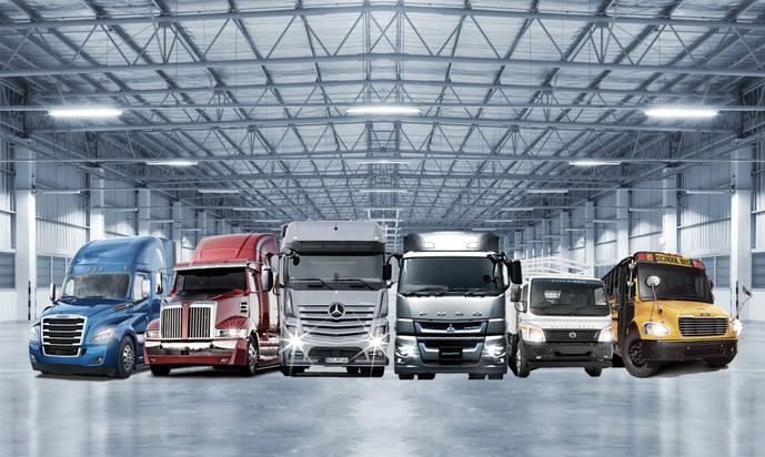 Aumento en ventas por unidad y EBIT de Daimler Trucks