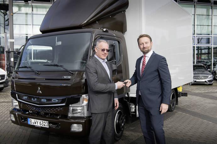 P & H Logistik aumenta su flota de Berlín con tres Fuso eCanter