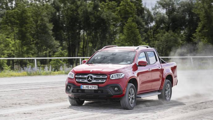 Nuevo Mercedes-Benz Clase X con motor V6 y tracción total permanente