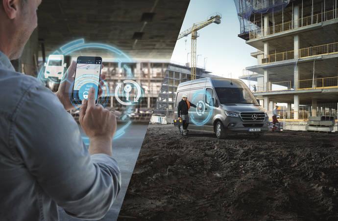 Mercedes Pro lanza servicios digitales para el nuevo Mercedes-Benz Sprinter