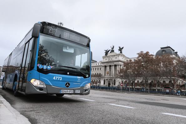 Madrid apuesta por Mercedes-Benz de Gas Natural