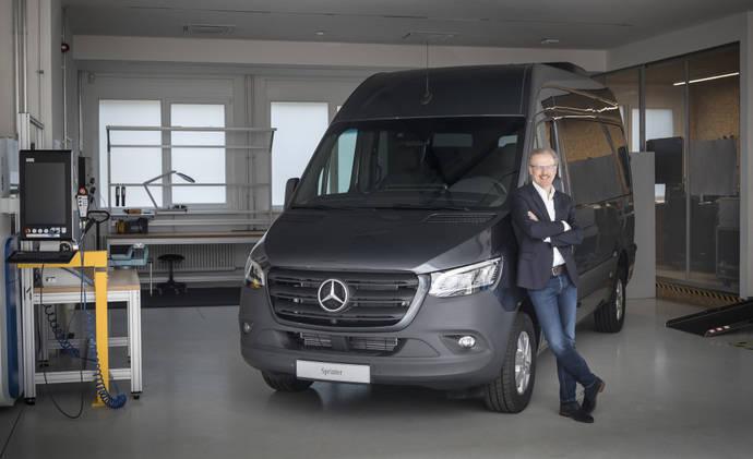 Mercedes-Benz Vans planea un mayor crecimiento en ventas unitarias tras el récord del año 2017