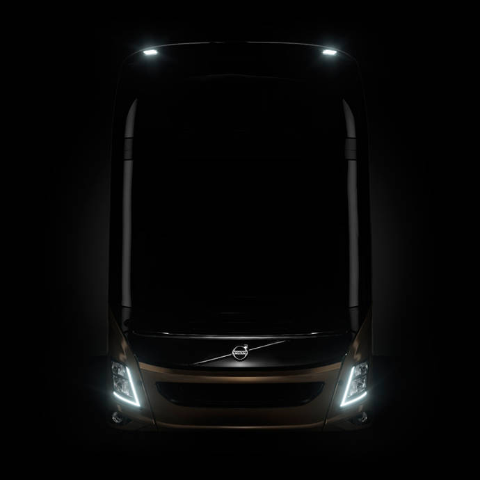 Nuevo Volvo de dos pisos para el mercado europeo