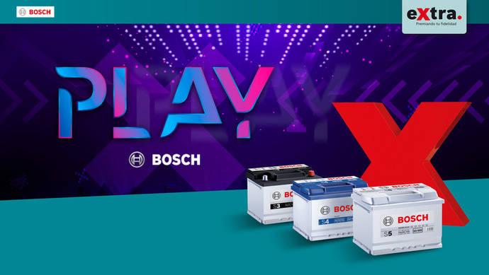 Lanzamiento de la exclusiva campaña de baterías 'Play Bosch'