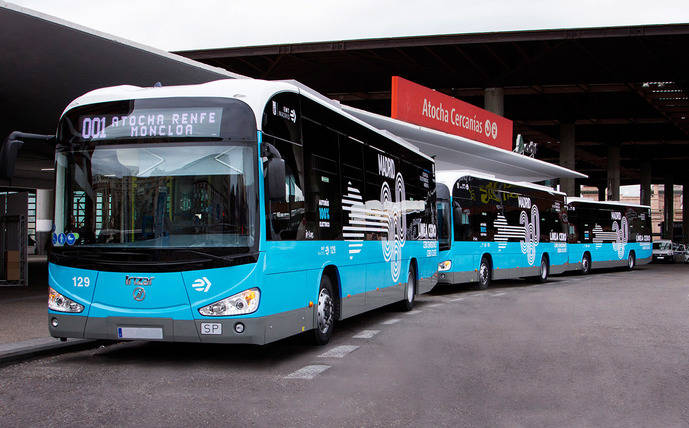 Crece la presencia de Irizar e-mobility en Madrid