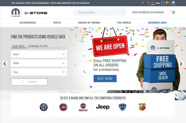 El e-commerce de Mopar abre sus puertas a todos los clientes