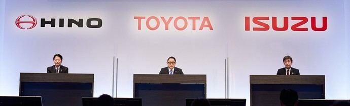 Toyota se asocia con las compañías Hino e Isuzu