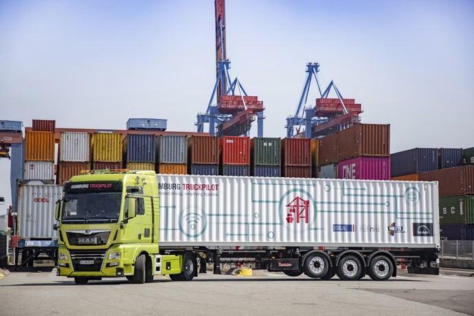 Gran éxito del «Hamburg TruckPilot»