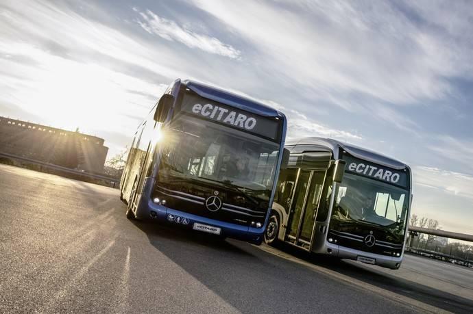 Mercedes Benz en el congreso de la Unión Internacional de empresas de Transporte Público
