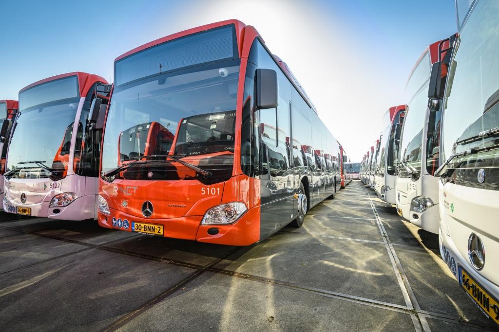 EBS recibe 93 autobuses híbridos Mercedes-Benz Citaro en Holanda