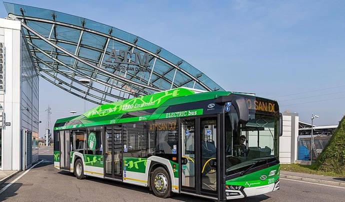 Milán adquiere un centenar de eléctricos de Solaris