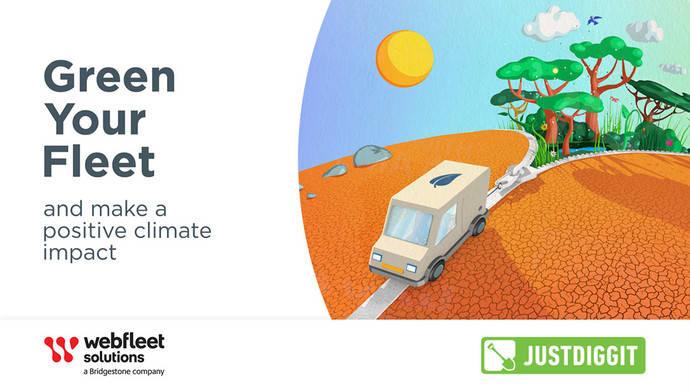 Nueva plataforma 'Dale un toque verde a tu flota' de Webfleet