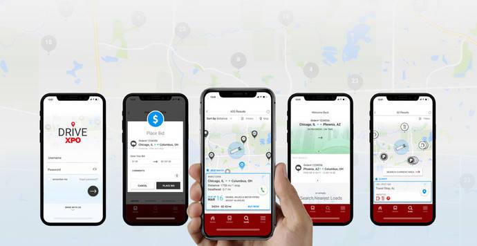 XPO Logistics lanza su tecnología móvil Drive XPO en Europa