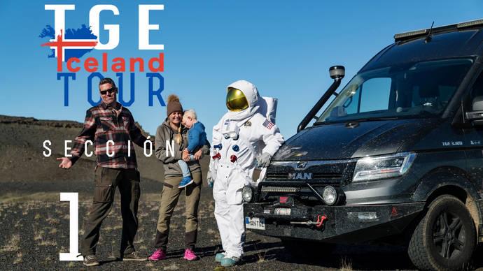 La MAN TGE 4x4 protagoniza una gran aventura en la isla de Islandia