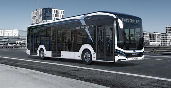 MAN mostrará su autobús urbano eléctrico en la próxima IAA