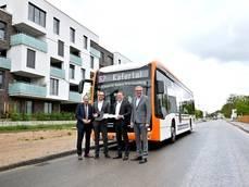 Rhein-Neckar-Verkehr adquiere tres autobuses Mercedes-Benz eCitaro