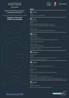 Agenda Ganvam - Salón VO 2019.