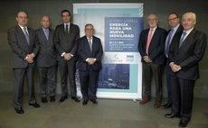 Firma de la declaración conjunta de la movilidad sostenible.