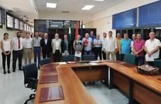 Firma del convenio colectivo en Sevilla.