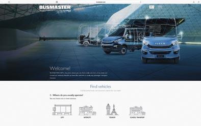 Iveco presenta Busmaster, su nuevo sitio web