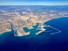 Puerto de Valencia.