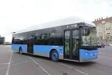 Autobús Scania Castrosua - EMT Madrid GNC.