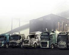 Camiones Volvo.