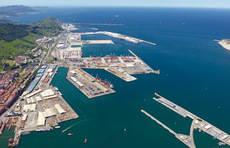 Puerto de Bilbao.
