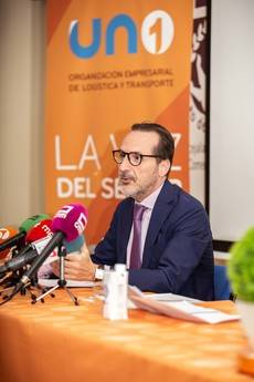Francisco Aranda en rueda de prensa.