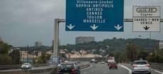 Carretera en Francia.