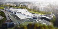 Proyecto de la nueva estación de autobuses intermodal de la ciudad de Vigo.