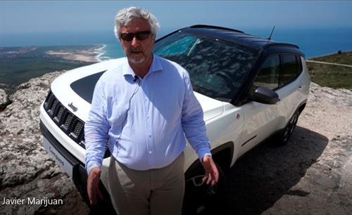 """Javier Marijuán, """"el Compass nos permitirá doblar las ventas de Jeep en España"""""""