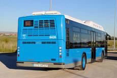 Madrid aumenta sus pasajeros de autobuses en más de un 3%.