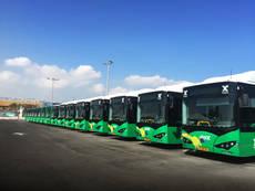 Israel compra 12 autobuses eléctricos de BYD