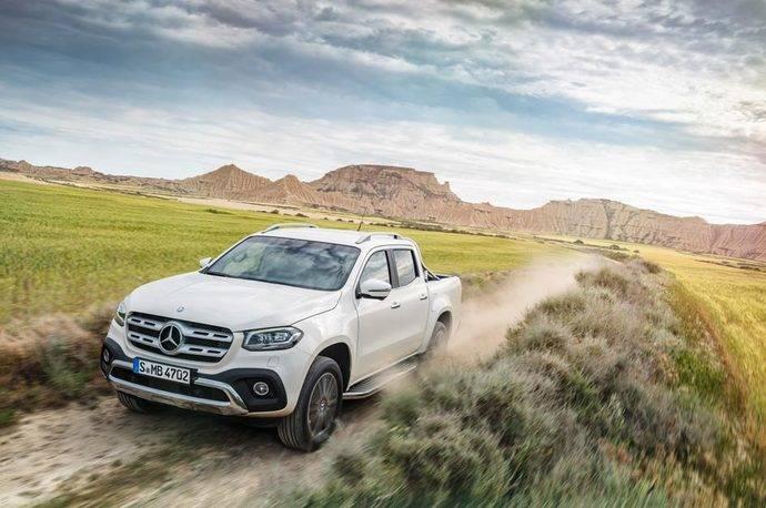 La Clase X de Mercedes-Benz se pone de largo