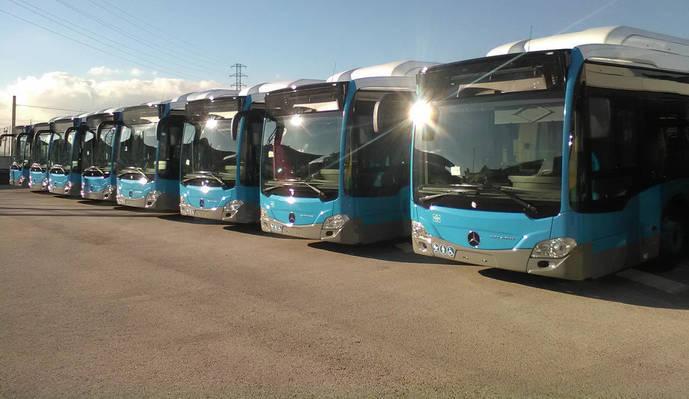 Madrid refuerza los autobuses este fin de semana