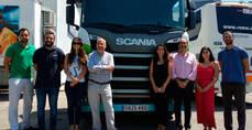 Gasnam se interesa por la oferta de gas de Scania y visita sus instalaciones