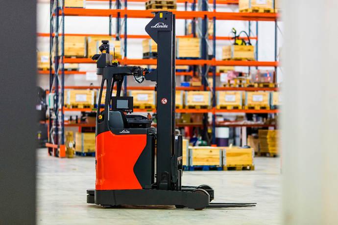 Nueva Linde R-Matic admite hasta 1,6 toneladas carga