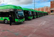El uso del autobús evita la emisión de casi siete millones de toneladas de CO2