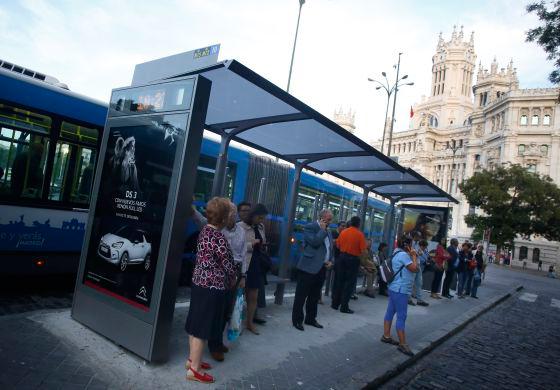 Uno de cada 10 viajes en transporte público en Madrid lo realizan los turistas